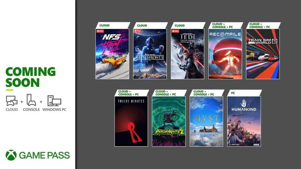 Эти 9 игр пополнят Game Pass в ближайшие 2 недели