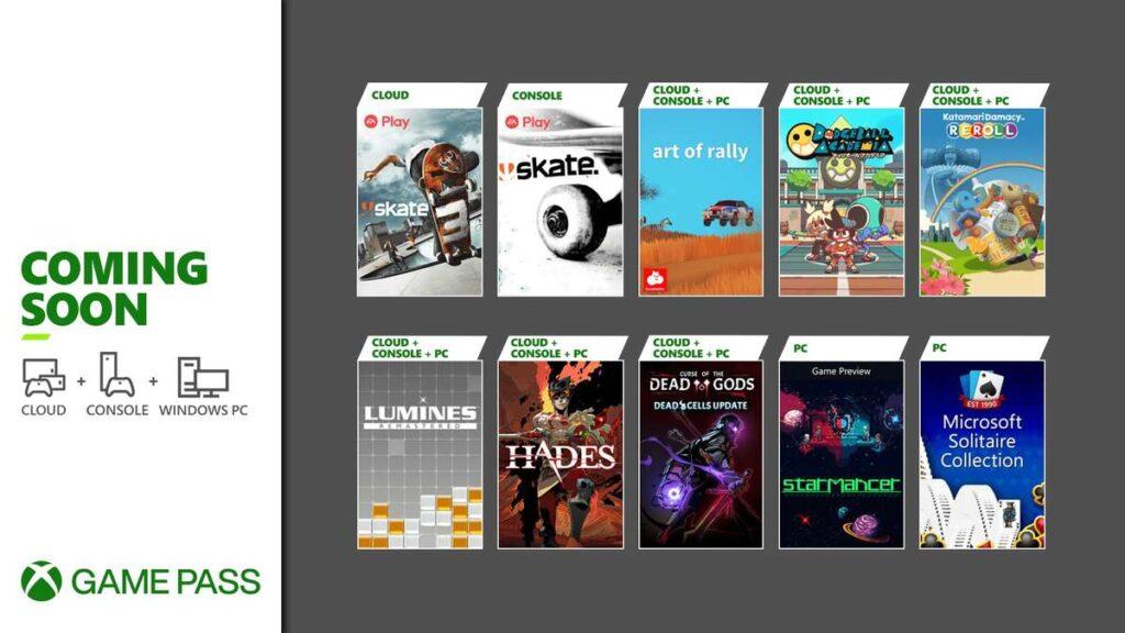 Эти 10 игр пополнят подписку Game Pass в первой половине августа