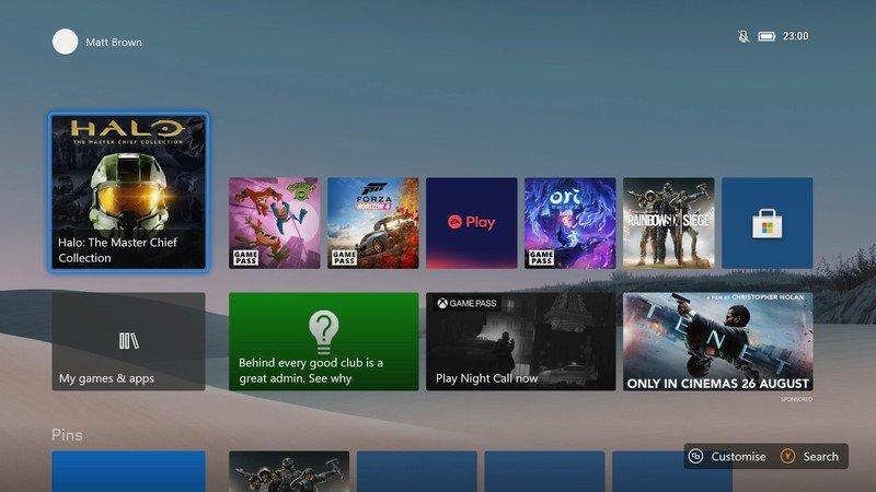 Интерфейс высокого разрешения на Xbox Series X не скажется на игровых ресурсах