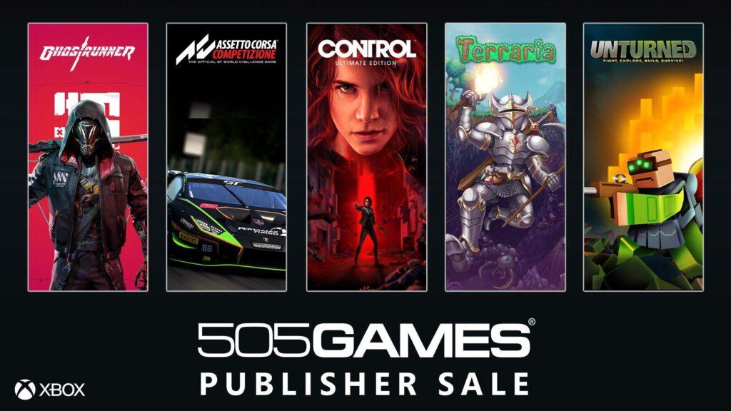 В Microsoft Store стартовала распродажа игр издательства 505 Games: список позиций