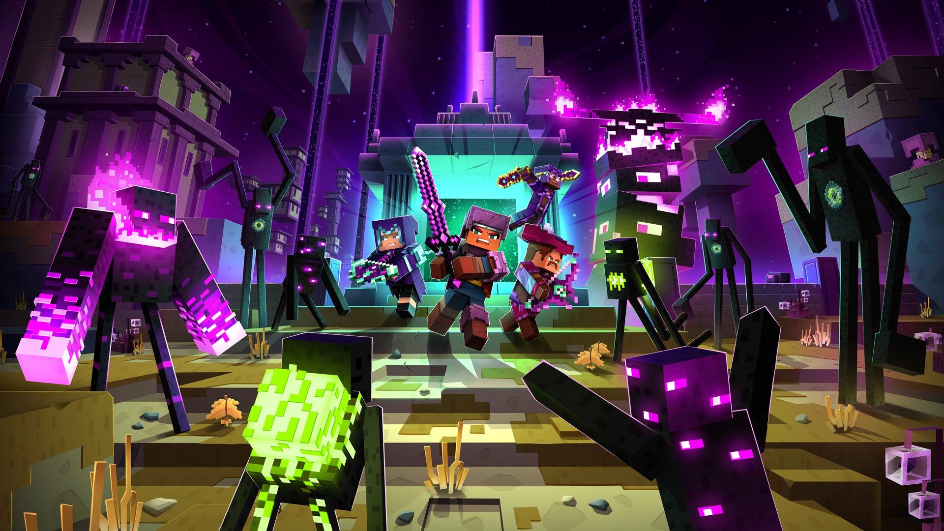 Minecraft Dungeons добралась и до Steam - спустя 1,5 года после релиза