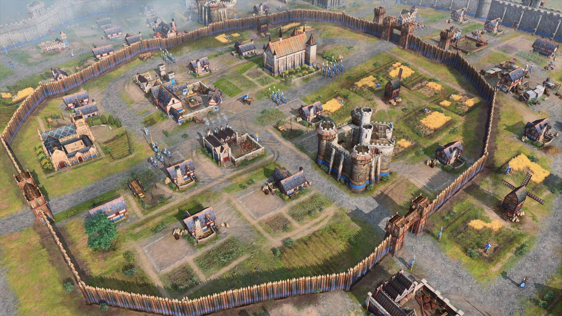 40+ минут геймплея многопользовательского матча Age of Empire IV