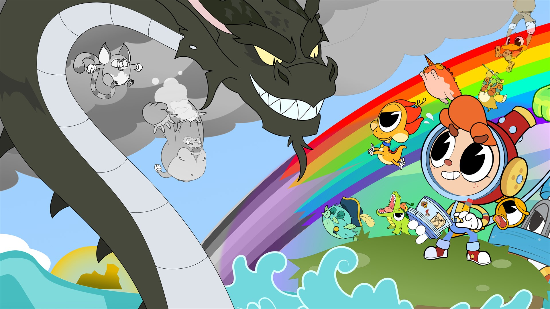 Rainbow Billy: The Curse of the Leviathan выходит в начале октября