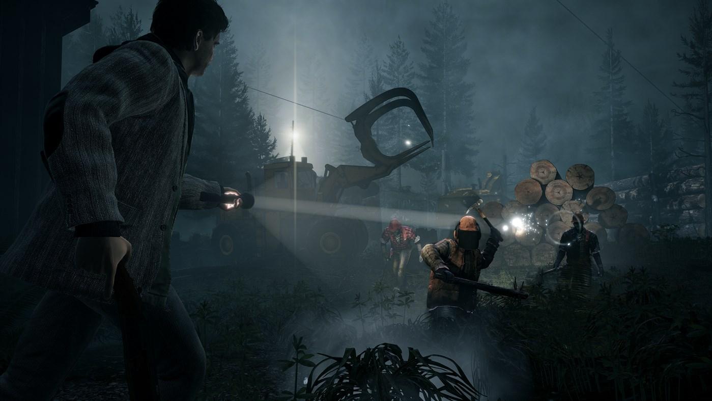 Как выглядит Alan Wake Remastered в 4K – показали новый геймплей