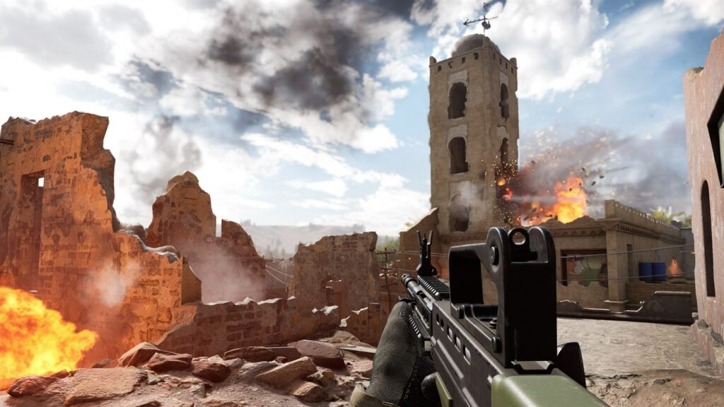Новый геймплей консольной версии Insurgency: Sandstorm