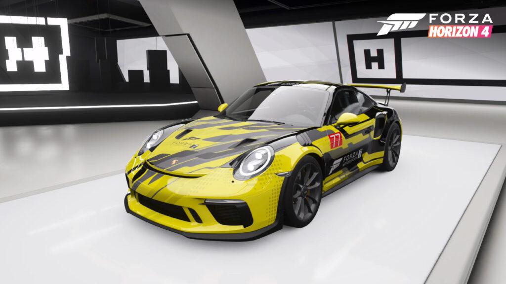 Специальную окраску в Forza Horizon 4 дают игрокам в честь Forza Motorsport 7