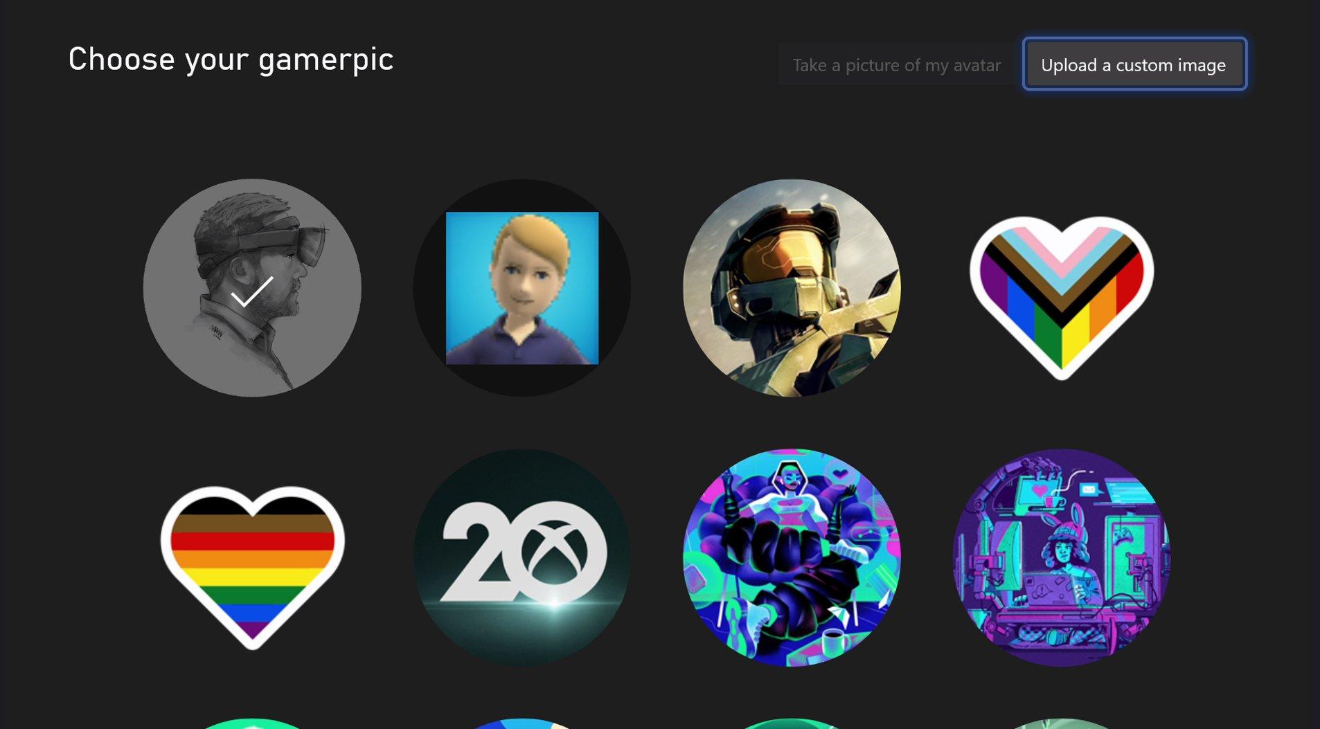 Gamerpic с Xbox 360 возвращаются на Xbox One и Xbox Series X | S