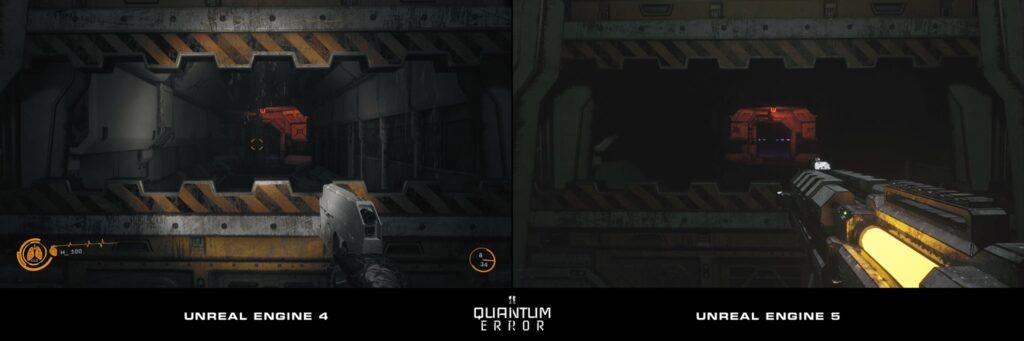 Разработчики Quantum Error перенесли игру на Unreal Engine 5 и показали геймплей