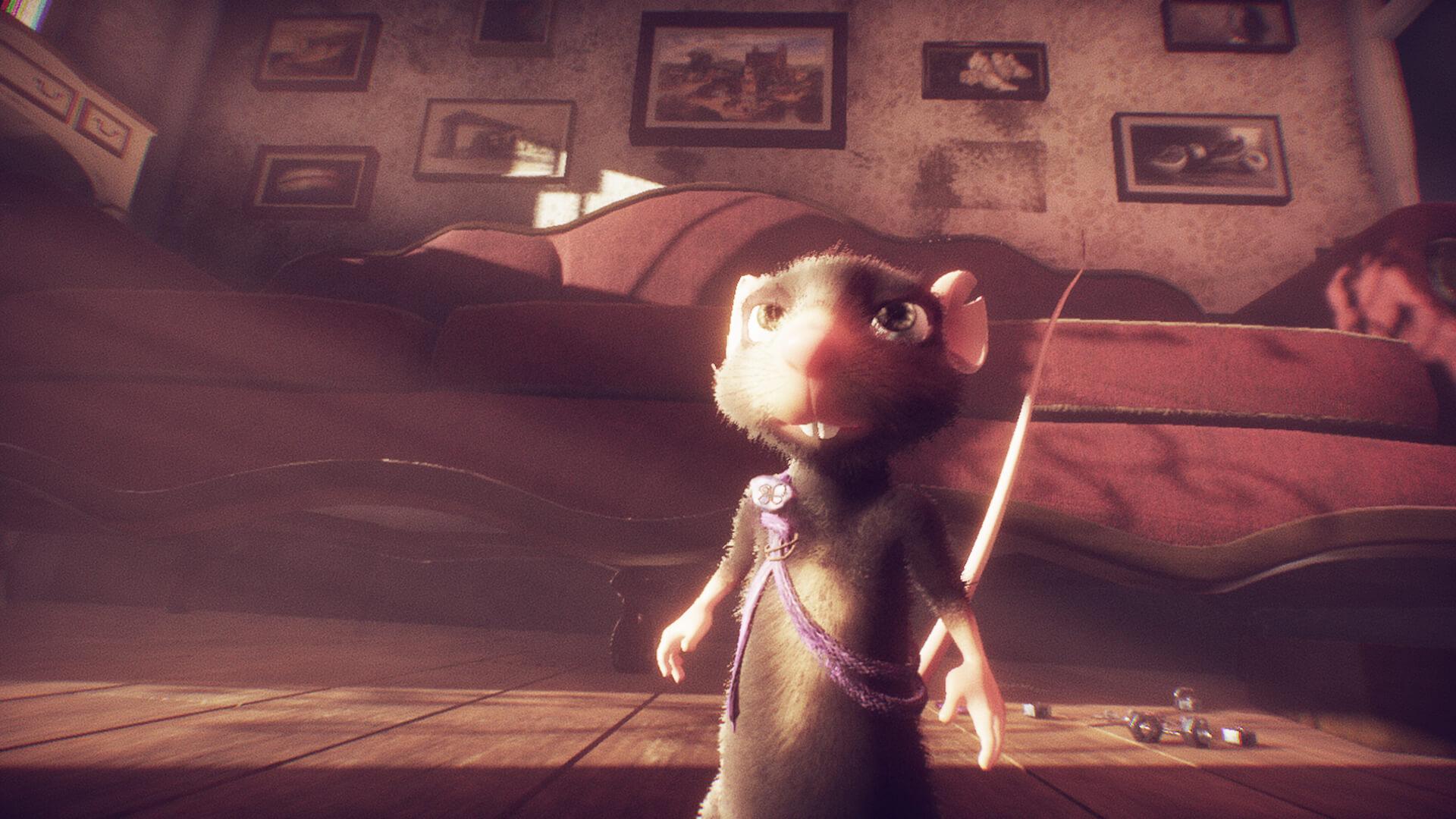 Приключенческая игра A Rat's Quest: The Way Back Home получила новый трейлер