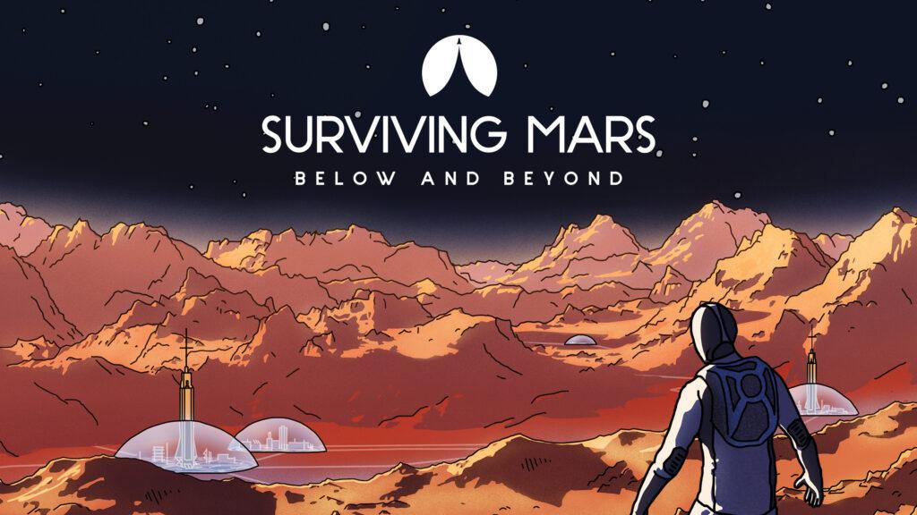 Игра Surviving Mars получила дополнение Below and Beyond