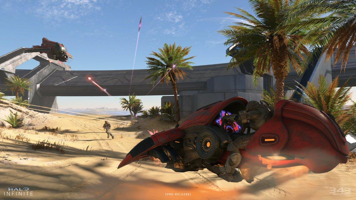 Карту Behemoth с транспортом из Halo Infinite сравнили на разных консолях Xbox