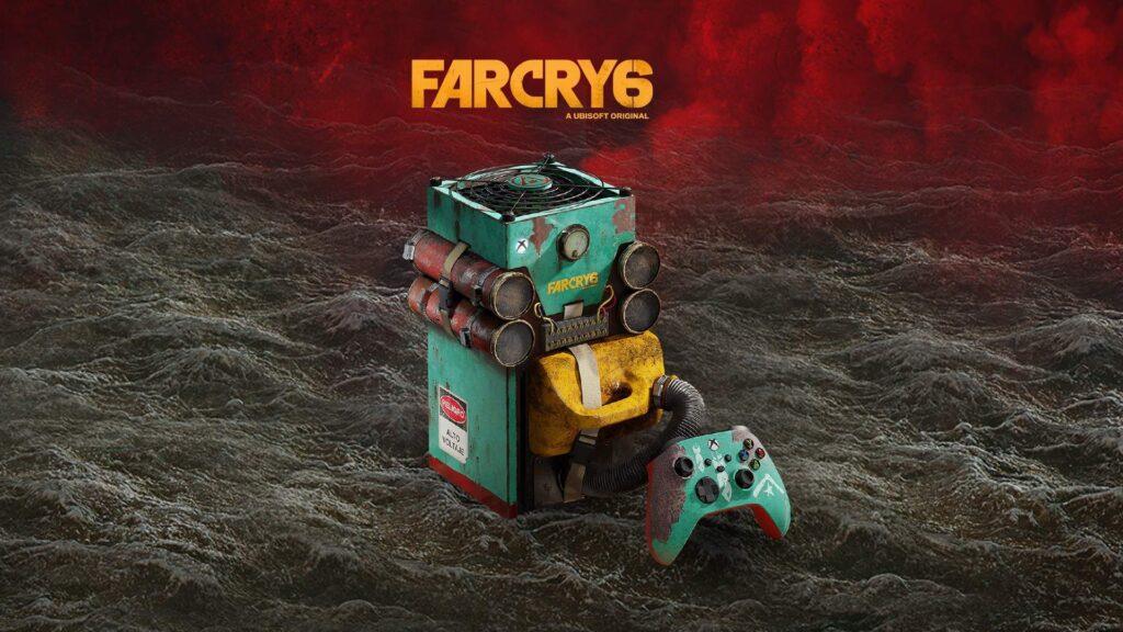 Microsoft показала Xbox Series X в стиле Far Cry 6
