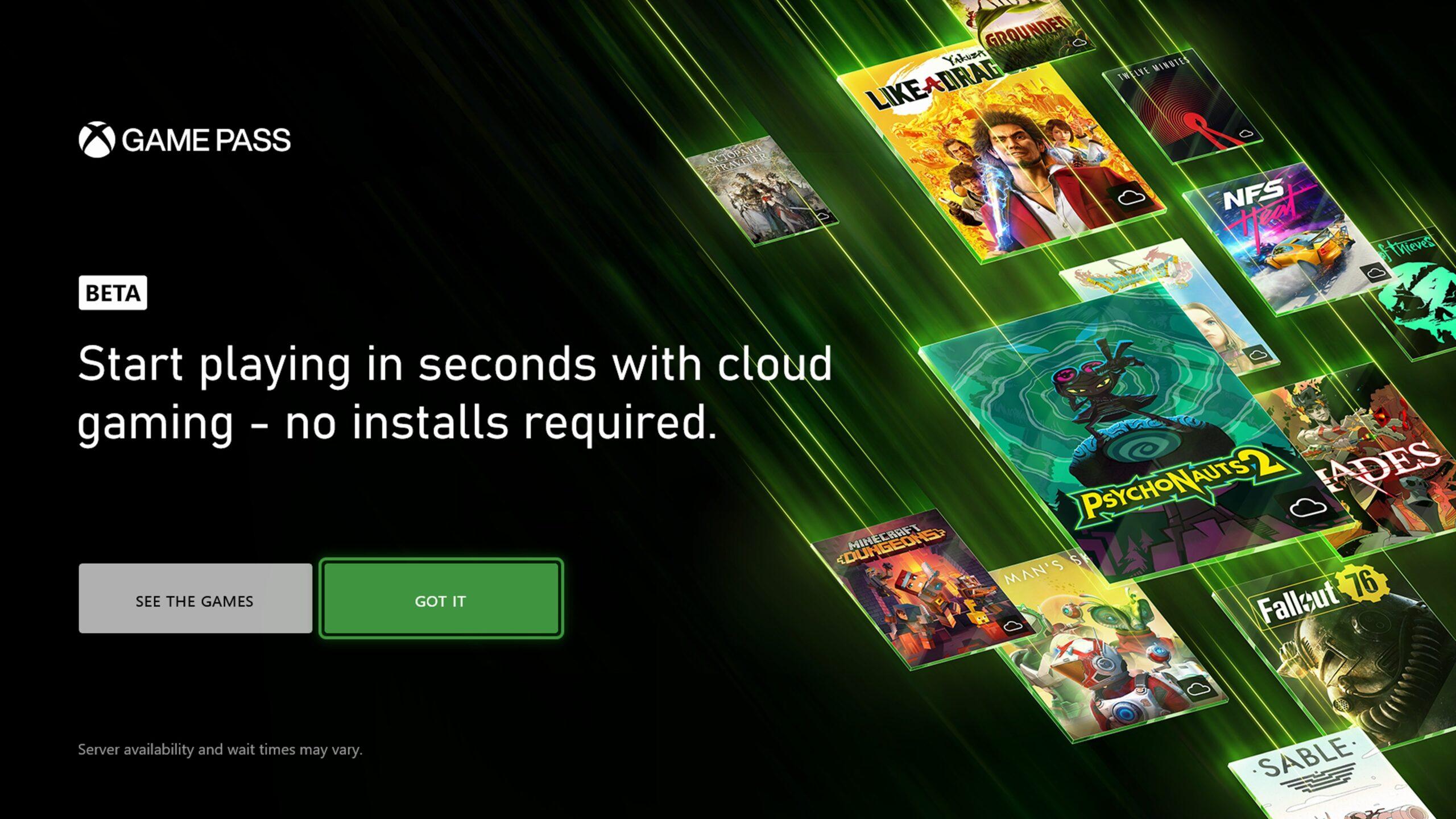 Игры на Xbox теперь можно запускать из облака, без установки - пока для инсайдеров