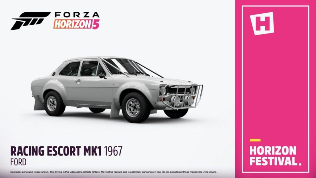 Ford Mk1 Escort 1967 показали в новом видео Forza Horizon 5