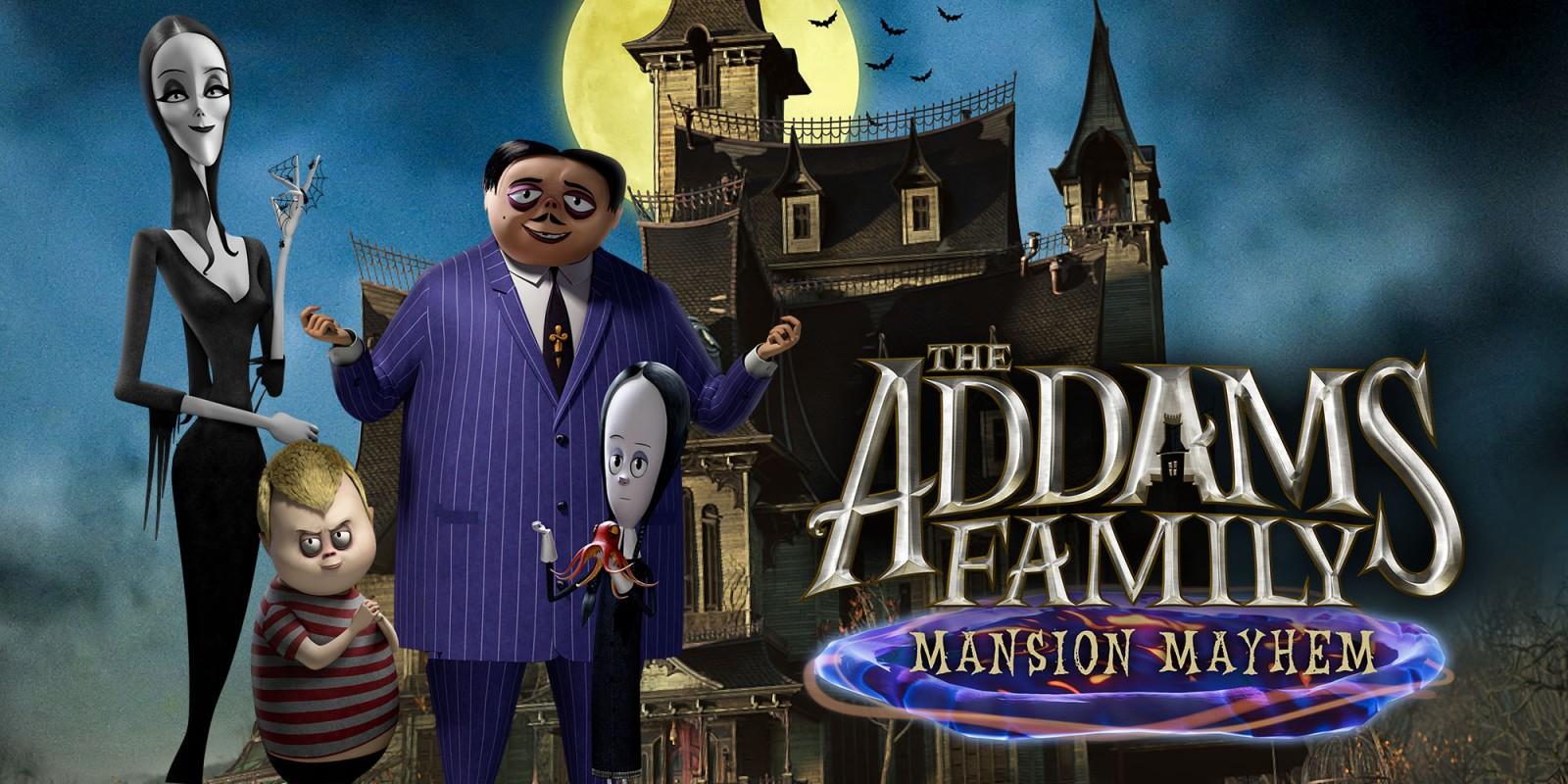 Новая игра по Семейке Аддамс (The Addams Family: Mansion Mayhem) вышла на Xbox