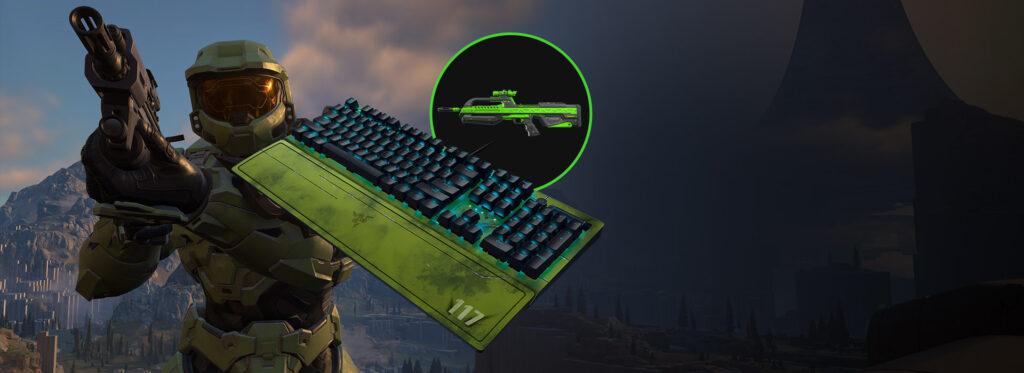 Компания Razer представила линейку аксессуаров в стиле Halo Infinite