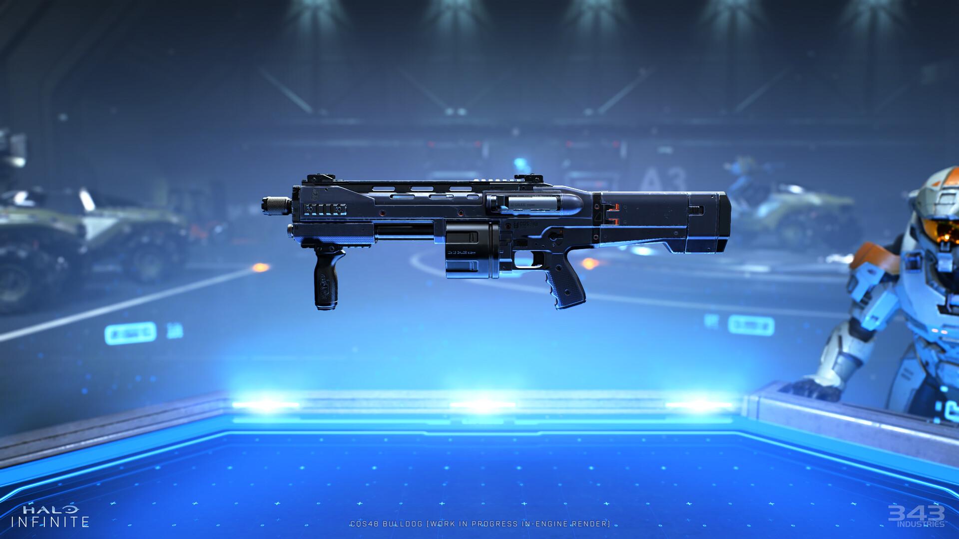 Стал известен полный список оружия Halo Infinite