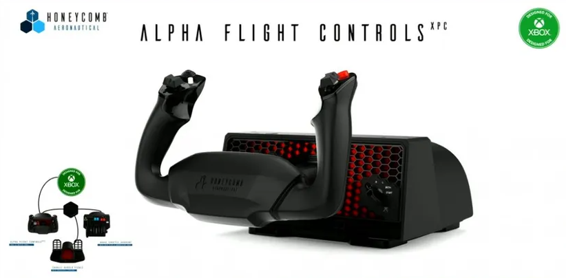 Через Xbox Hub и Alpha Flight Controls XPC к Xbox можно будет подключать аксессуары PC для Microsoft Flight Simulator
