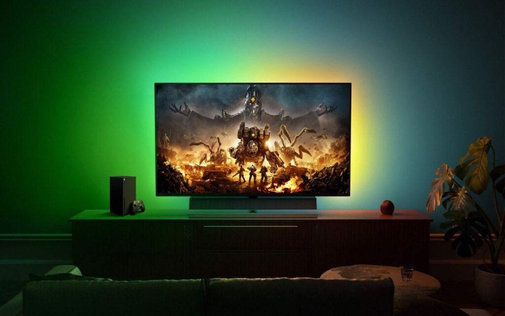 """Монитор «Специально для Xbox» Philips Momentum 55"""" 559M1RYV поступил в продажу"""