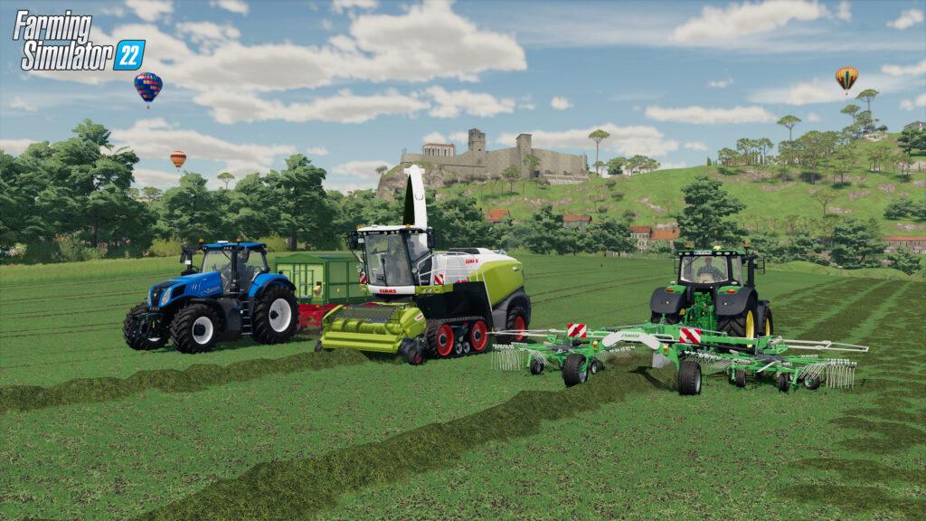 Farming Simulator 22 получит кроссплатформенный мультиплеер