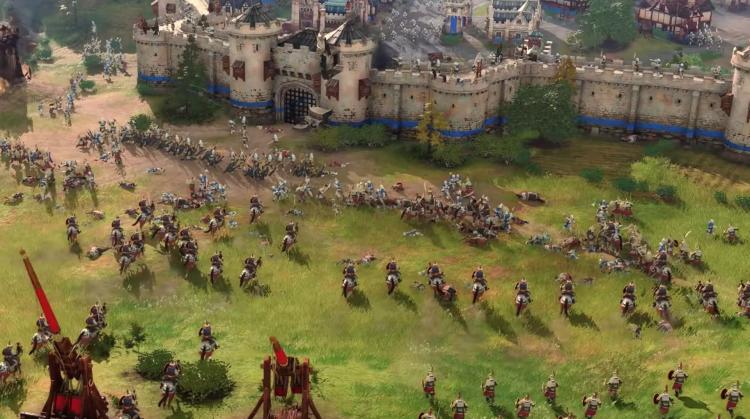 Новые 20 минут геймплея Age of Empires IV, игра выходит 28 октября