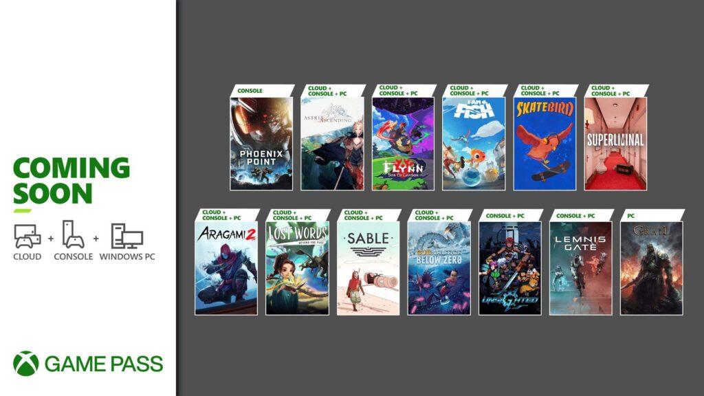 Эти 13 игр добавят в Game Pass в ближайшие 2 недели