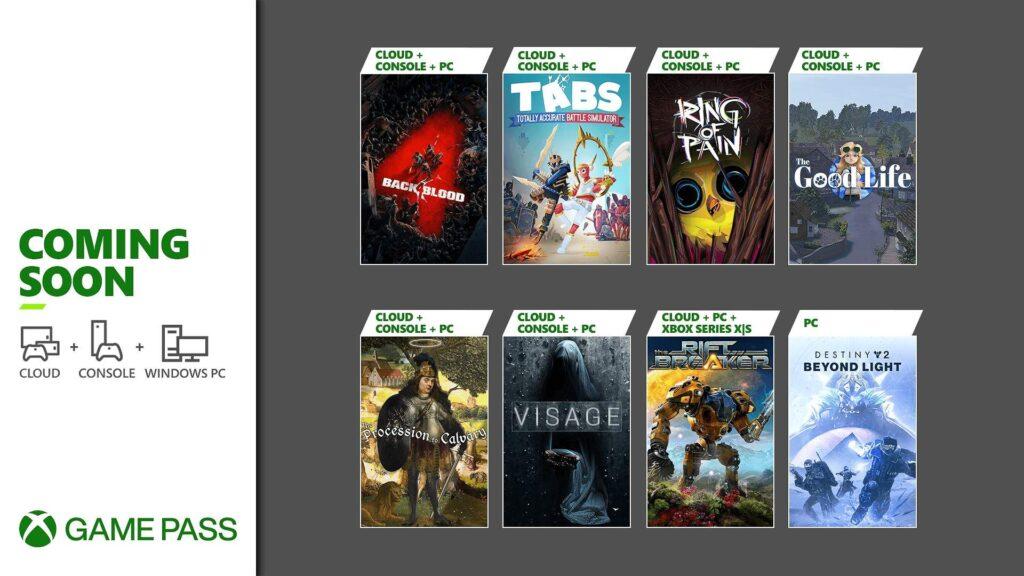 Эти 8 игр пополнят подписку Game Pass в начале октября