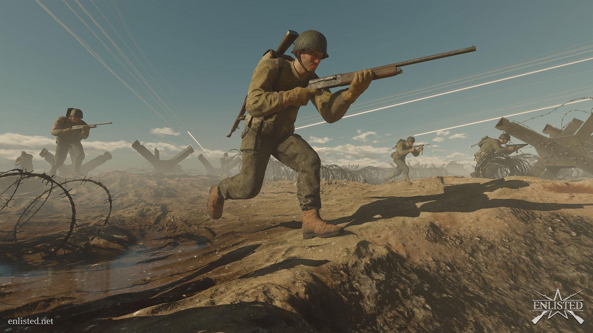 Игра Enlisted добралась до Xbox One, ранее шутер был доступен только на Xbox Series X | S