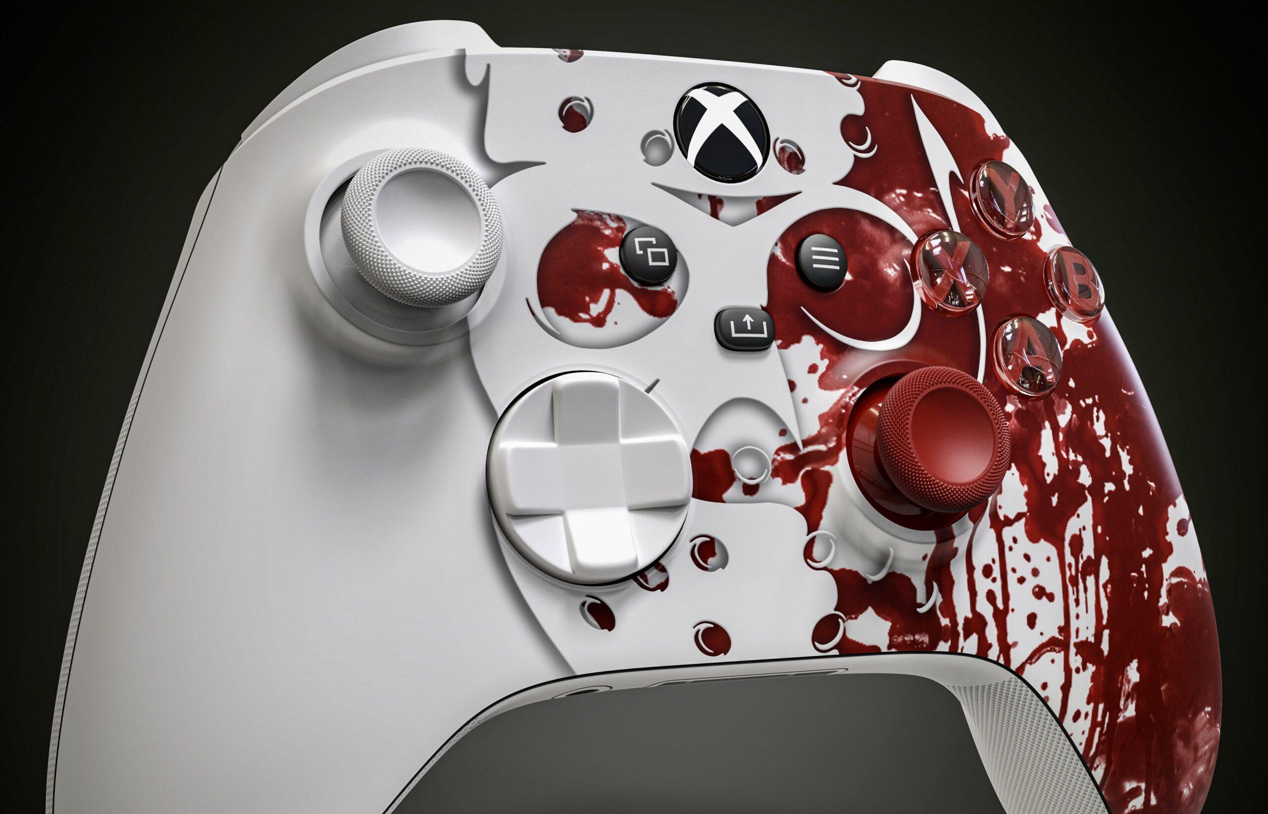 Дизайнер представил варианты геймпадов Xbox к Хэллоуину