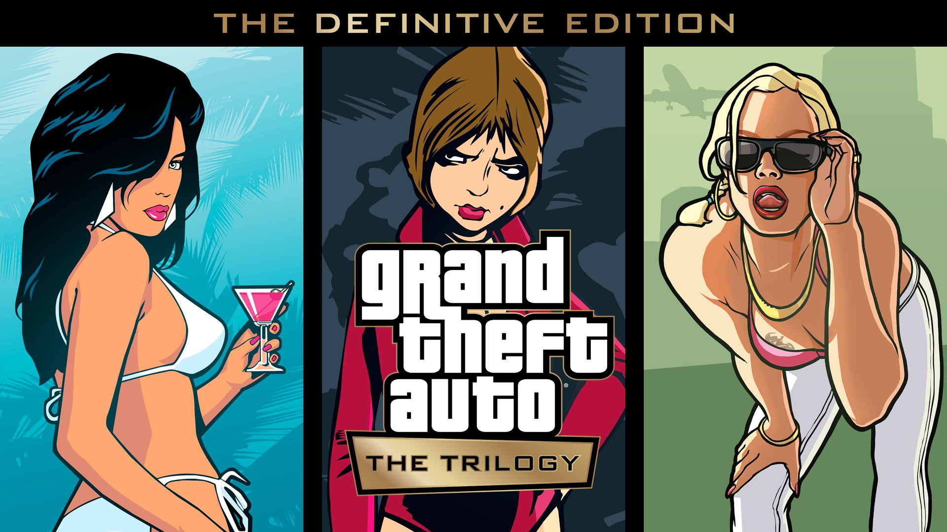 Официально: трилогия переизданий Grand Theft Auto анонсирована