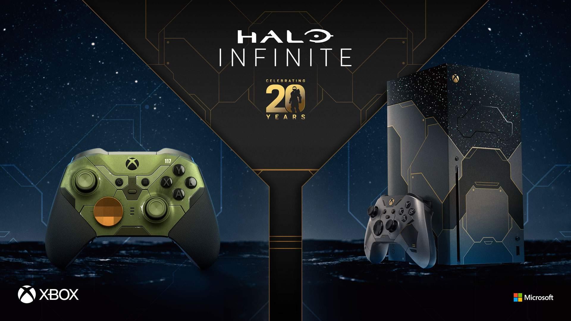 В эту пятницу в России стартуют предзаказы Xbox Series X Halo Infinite и Halo Infinite Elite Series 2